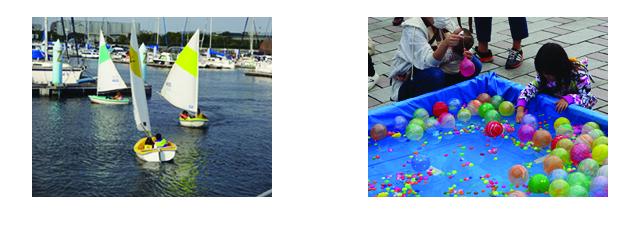 ディンギーと水彩フェスティバル