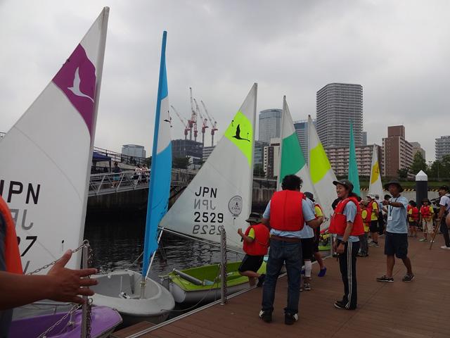 小学生ヨット講習会